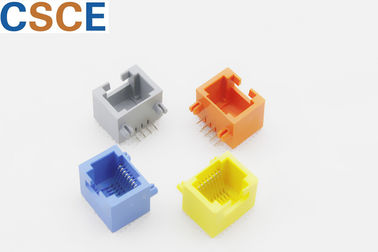 Multi Color Housing RJ45 Single Port Operation Temperature ﹣40℃ To +85℃